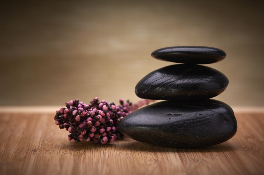 hot stone massage in Bangor, ME.