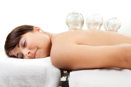 cupping therapy from your chiropractor in bangor